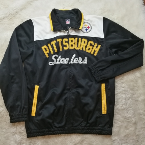 8253aba93 NFL Pittsburgh Steelers Zip Front Jacket Medium